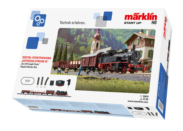 "29074 Märklin Start up Digital-Startpackung ""Güterzug Epoche III"""